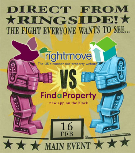 iPhone Apps : FindaProperty App vs Rightmove App