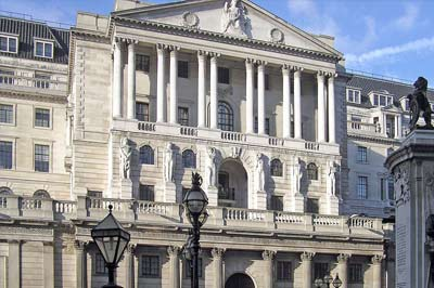 Mortgages controlled by Bank of England