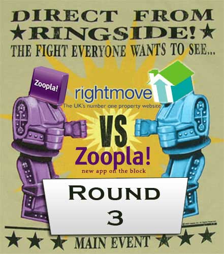 Zoopla versus Right move