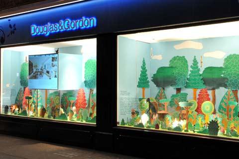 Harrington Rd Estate agent pop art installation
