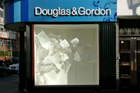 Estate agents window - Pop art