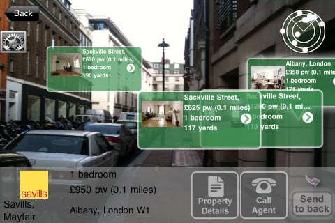 augmented app from findaproperty