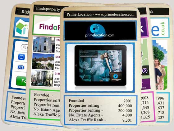 Property Top Trumps - PrimeLocation.com