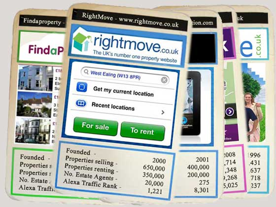 Super Top Trumps - RightMove