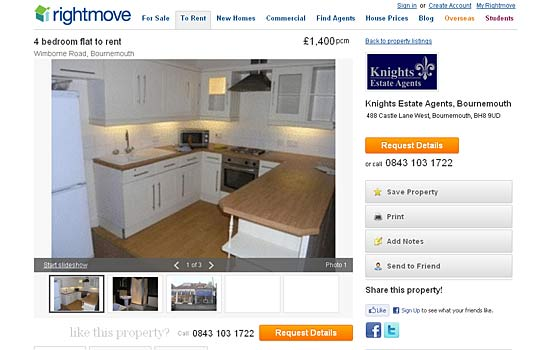 Rightmove rental properties missing list